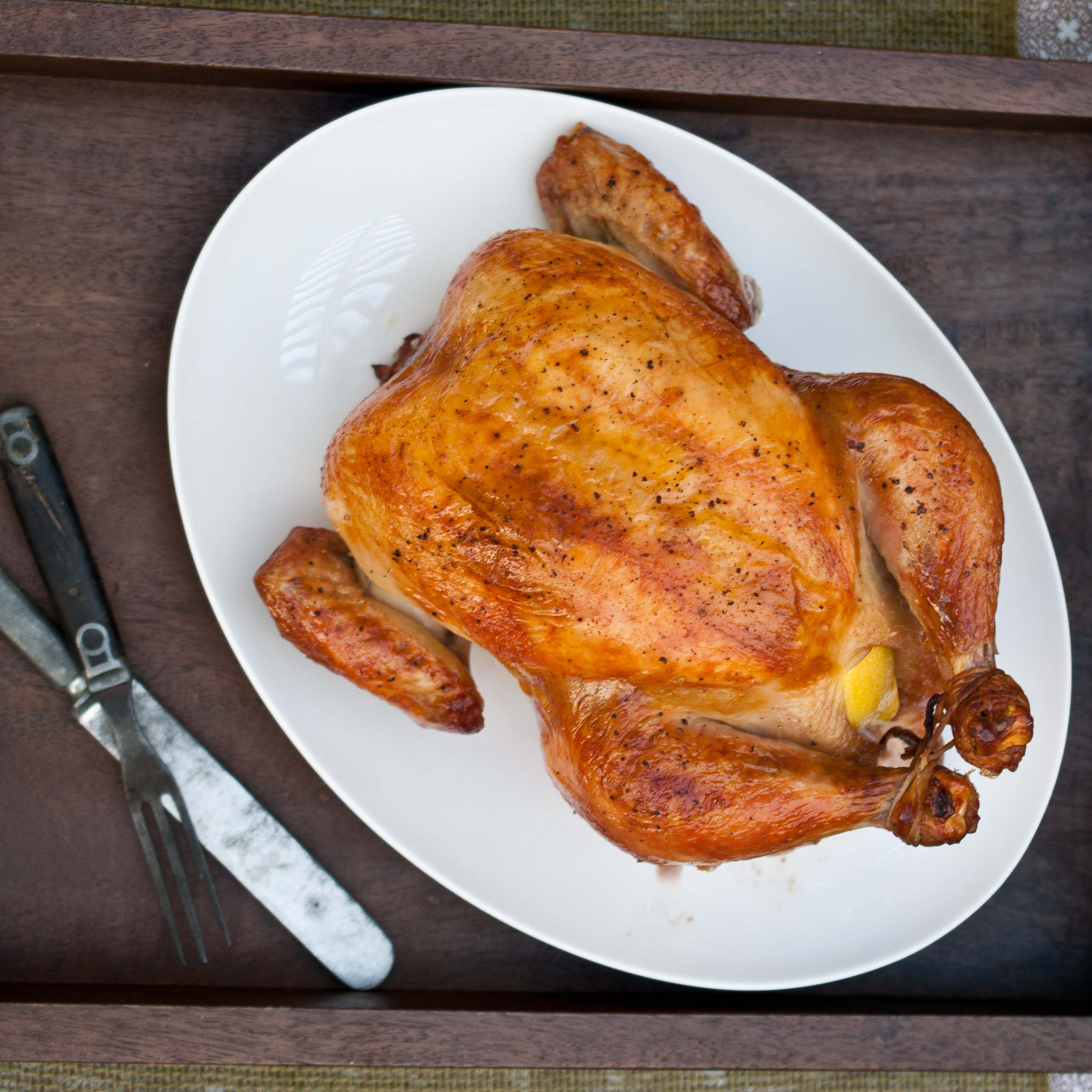 Beer Brined Roast Chicken - The Beeroness