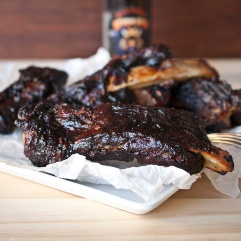 Beer BBQ Oven Roasted Ribs4